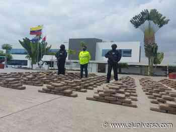 Más de una tonelada de marihuana fue decomisada en Rocafuerte, Manabí - El Universo