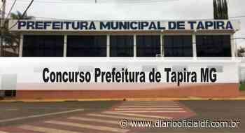 Concurso Prefeitura de Tapira MG - DIARIO OFICIAL DF - DODF CONCURSOS