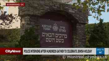 Police disperse large religious gathering in Boisbriand - CityNews Montreal
