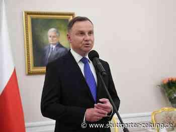 Andrzej Duda - Polens Präsident positiv auf Corona getestet - Stuttgarter Zeitung