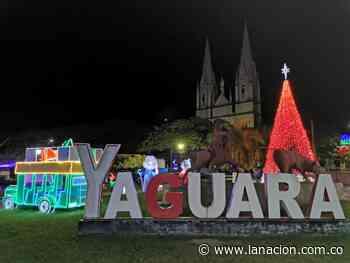 Así se ilumina Yaguará en Navidad • La Nación - La Nación.com.co