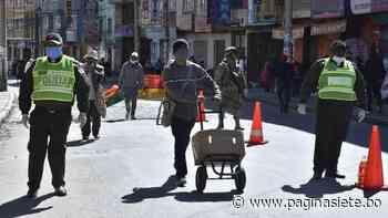 La Paz, El Alto y Patacamaya, los municipios con más casos de Covid-19 - Diario Pagina Siete