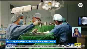 Exitosa neurocirugía devuelve movilidad a joven en Santiago de Veraguas - TVN Noticias