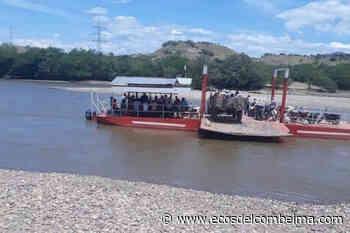 Volqueta cayó al río Magdalena en jurisdicción de Natagaima - Ecos del Combeima