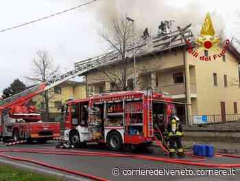 Incendio a Santa Maria di Sala - Corriere della Sera
