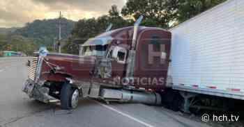 Triple colisión deja varias personas heridas y pérdidas materiales en La Guama, Santa Cruz de Yojoa - hch.tv