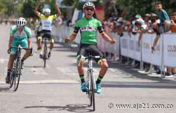 Juan Sebastián Ruiz ganó en Paz de Ariporo y es primer líder de la Vuelta del Porvenir - Eje21