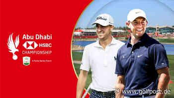 European Tour: Rory McIlroy und Justin Thomas sagen Abu Dhabi 2021 zu - Golf Post
