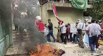 Cusco: Ollantaytambo se suma a protesta contra PeruRail e Inca Rail - LaRepública.pe