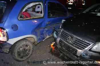 Unfall bei Glanbrücken: Verletztes Kind und doppelter Totalschaden - Wochenblatt-Reporter