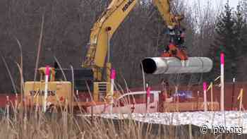 Line 3 Construction Underway in Clearbrook - lptv.org