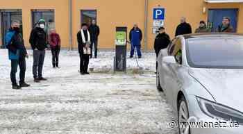 Ladesäule für E-Autos in Edelsfeld in Betrieb - Onetz.de