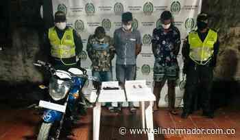 Capturan a tres hombres robando pavos en el municipio de Chibolo - El Informador - Santa Marta