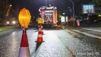 Unfall L380 zwischen Eningen und St. Johann: Eninger Steige: Auto kracht frontal in Transporter - SWP