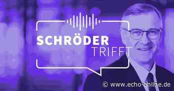 Schröder trifft #46 – Harald Boos und Annette Krämer - Echo Online