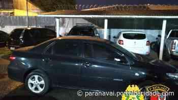Quatro adolescentes são apreendidos em Paranavaí após roubarem carro em Loanda - ® Portal da Cidade   Paranavaí