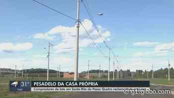 Donos de lotes em Santa Rita do Passa Quatro descobrem hipoteca e têm prejuízos com taxas de juros - G1
