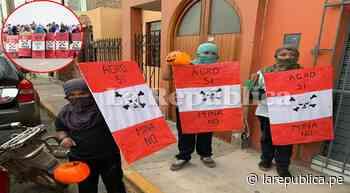 Tía María: Niños de Cocachacra se disfrazaron de espartambos por Halloween   Arequipa   lrsd   - LaRepública.pe