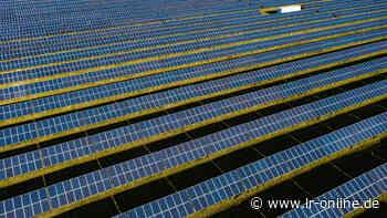 Schönewalde: Juwi gibt Zwischenstand zum Solarpark Brandis - Lausitzer Rundschau