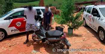 Moto furtada em Bom Jesus é encontrada em Piracaia e dois são presos - Jornal Bragança Em Pauta