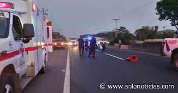 Mujer muere tras ser atropellada en carretera a San Juan Opico, La Libertad - Solo Noticias