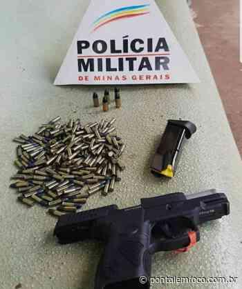 Polícia Militar apreende arma de fogo durante operação, em Iturama - Pontal Emfoco