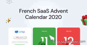 SaaS Advent Calendar 2020 - SaaSanta is coming to town and he's not bringing coal