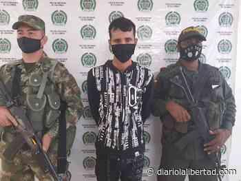Capturan a alias 'El Paisa', jefe de punto en Tiquisio, sur de Bolívar - Diario La Libertad
