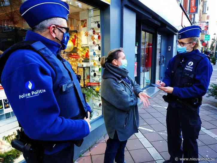 """Operatie Kerstroos moet handelaars en bevolking veiliger gevoel geven: """"Dat blijft toch één van de hoofdtaken van de politie"""""""