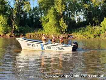 Hallaron sin vida al joven armenio que cayo al rio Parana - San Perdo Informa