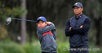 Watching Tiger Woods Play an Often-Hidden Role: Dad