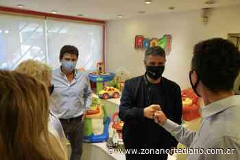 Villa Martelli: Jorge Macri visitó una fábrica de juguetes - Zona Norte Diario Online