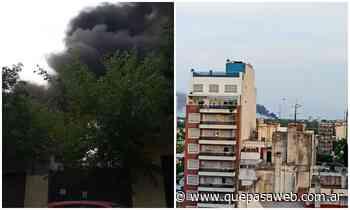 Se incendiaron tres fábricas en Villa Martelli - Que Pasa Web