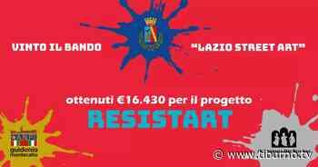 """Guidonia - Il Comune vince il bando """"Lazio Street Art"""" - Tiburno.tv Tiburno.tv - Tiburno.tv"""