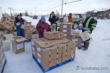 Holiday food hampers go out in Kuujjuaq - Nunatsiaq News