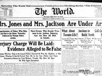 This Week in History: 1905 — A poisoning, a perjury and a throughly wicked woman