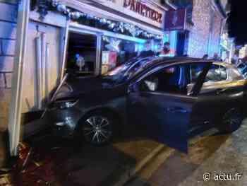 Essonne. À Montgeron, une voiture finit sa course dans la vitrine d'une boulangerie - actu.fr