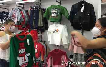 Los diseños navideños inspiran a los textileros de Atuntaqui - El Comercio (Ecuador)
