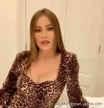 """""""Modern Family""""-Star Sofía Vergara zeigt sexy Outfits, die 2020 im Schrank bleiben mussten - Yahoo Nachrichten Deutschland"""