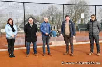 Tennisterreinen maken plaats voor padel