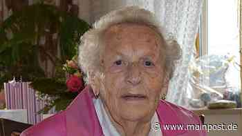 Maria Gotthardt aus Eschenau feierte ihren 95. Geburtstag - Main-Post