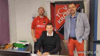 Fussball-Landesliga: Dennis Usadel bleibt Trainer des TSV Kropp | shz.de - shz.de