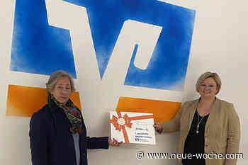 """Statt Weihnachtsausgaben: Volksbank im Wesertal unterstützt """"Lernfonds Salzhemmendorf"""" - neue Woche"""