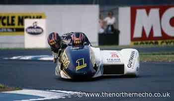When Bedale window cleaner Andy Hetherington was the toast of the sidecar racing world