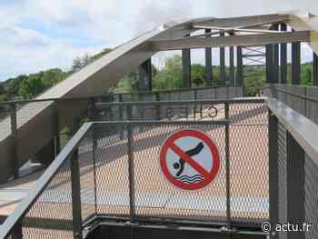 Inquiet, Laurent Delpech menace de fermer la passerelle reliant Dampmart et Chessy - actu.fr
