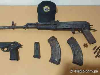 Ubican dos armas de fuego en Río Hato - El Siglo Panamá