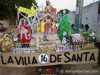 Así lució el desfile motorizado navideño en Polonuevo - Diario La Libertad