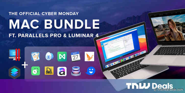 Parallels Pro, Luminar 4, and more for $3.50 each? Here's your last shot at a Mac owner's dream bundle