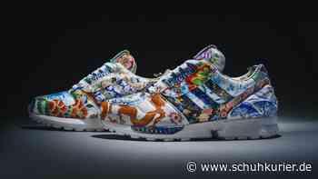 Meissen-Sneaker von Adidas versteigert - schuhkurier