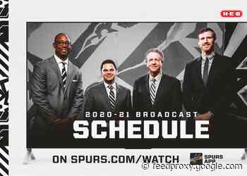 SPURS ANNOUNCE 2020-21 BROADCAST SCHEDULE FOR FIRST HALF OF SEASON